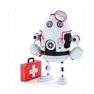 3D机器人医生图片