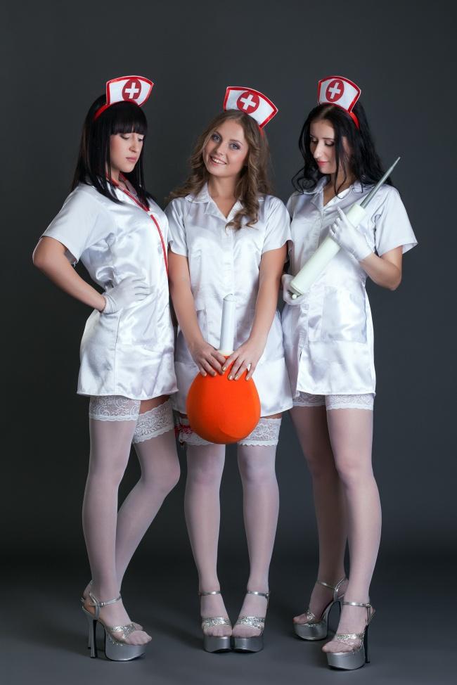 性感丝袜护士图片