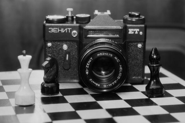 黑白相机图片
