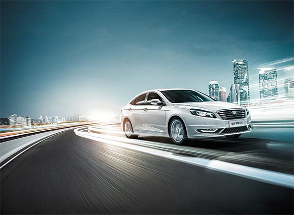 奔腾B50汽车广告PSD图片