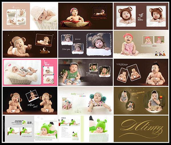 幸福时光儿童写真PSD图片