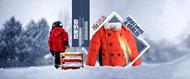 冬季童装海报PSD图片