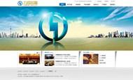 金融投资网站PSD图片