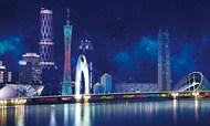 广州旅游海报PSD图片