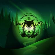 狼头标志矢量图片