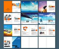 企业宣传画册矢量图片