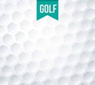 高尔夫球纹理背景矢量图片