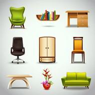 家具设计矢量图片