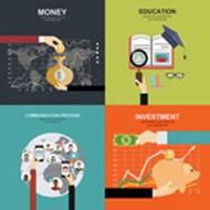 时尚商务金融矢量图片