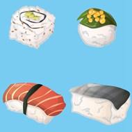 日本寿司矢量图片