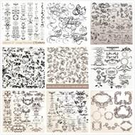 古典欧式花纹矢量图片