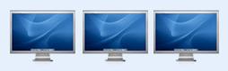 超大苹果宽屏显示器图标