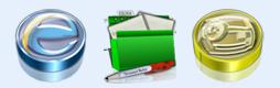 精美绿色文件夹图标