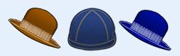 流行帽子图标