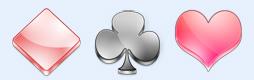 质感扑克牌图标