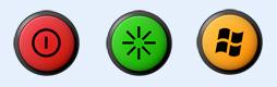 多款清晰圆环按钮图标