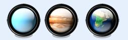 星球纹理按钮图标