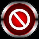精美红圈标志图标