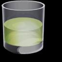 精致透明水杯图标