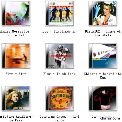 国外歌曲CD光盘系列1