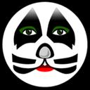 圆形面具图标
