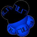 粒子球团体图标