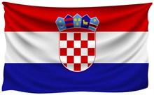 克罗地亚国旗图片素材