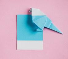 彩色手工折纸高清图片