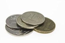 金融硬币素材高清图