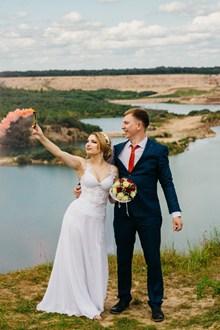 新郎新娘婚纱摄影图片素材