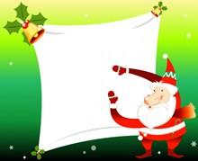 圣诞老人背景图片下载