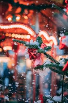 圣诞平安夜夜景图片大全