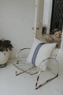 铁艺休闲靠背椅图片
