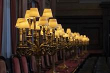 复古装饰台灯精美图片