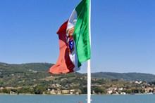 意大利旗帜精美图片
