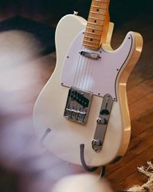 电吉他白色图片大全