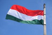 匈牙利国旗飘扬高清图