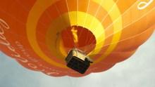 飞升热气球局部特写图片下载