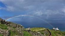 亚速尔群岛彩虹图片