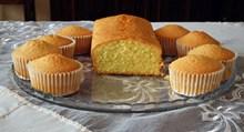 松饼美味小蛋糕图片