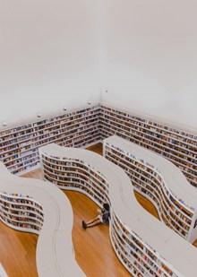 图书馆内景高清图