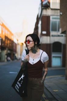 亚洲纹身美女精美图片