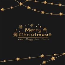 英语圣诞节海报图片