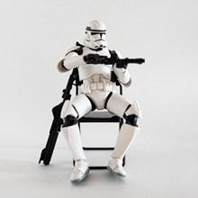 卡通持枪机器人玩具高清图片