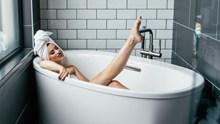 浴缸西西人体写真艺术摄影高清图