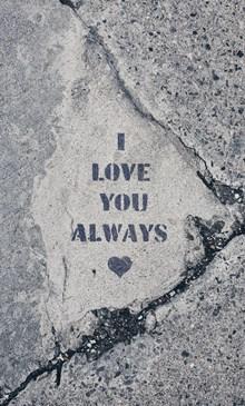 爱情表白英文字图片素材
