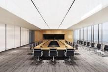 公司会议室布置高清图片