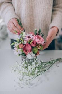 鲜花艺术插花 鲜花艺术插花大全高清图片