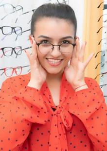 戴眼镜少妇美女图片