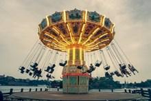 儿童节游乐园图片素材